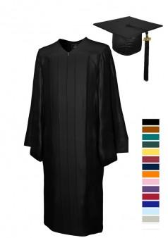 SHINY Bachelor Cap & Gown Sets