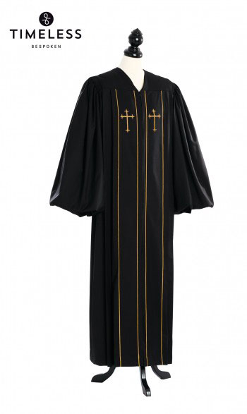 Custom Cleric Clergy Robe Gold - TIMELESS gold silk