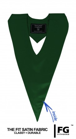 FOREST GREEN MIDDLE SCHOOL JUNIOR HIGH GRADUATION HONOR V-STOLE