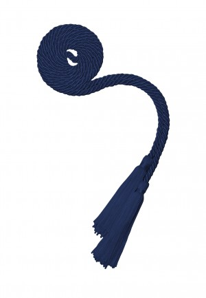 NAVY BLUE BACHELOR GRADUATION HONOR CORD