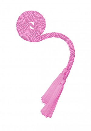 PINK BACHELOR GRADUATION HONOR CORD