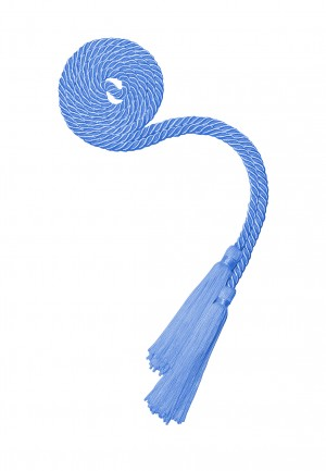 SKY BLUE HIGH SCHOOL GRADUATION HONOR CORD