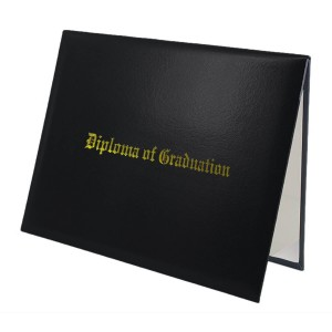 Graduation Diploma Cover