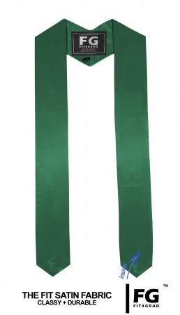 GRADUATION STOLE & SASH EMERALD GREEN