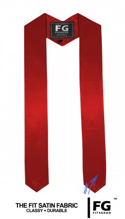GRADUATION STOLE & SASH RED