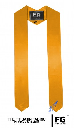 GRADUATION STOLE & SASH YELLOW GOLD