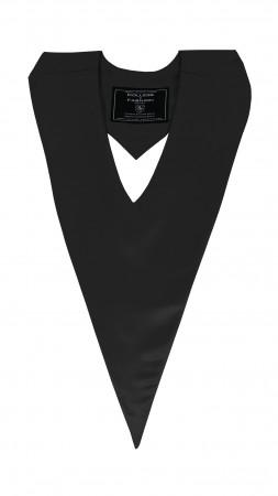 BLACK BACHELOR GRADUATION HONOR V-STOLE