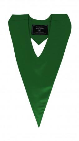 EMERALD GREEN BACHELOR GRADUATION HONOR V-STOLE