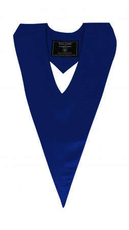 NAVY BLUE BACHELOR GRADUATION HONOR V-STOLE