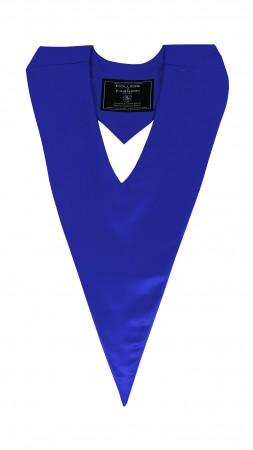 ROYAL BLUE BACHELOR GRADUATION HONOR V-STOLE