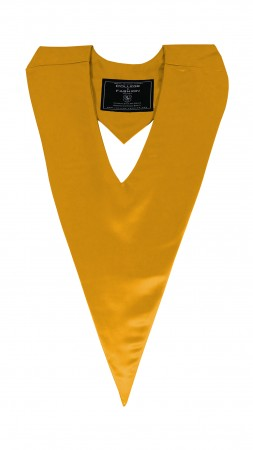 YELLOW GOLD BACHELOR GRADUATION HONOR V-STOLE