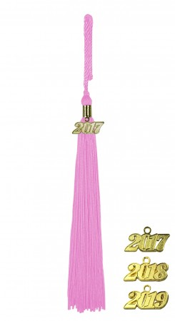 PINK MIDDLE SCHOOL JUNIOR HIGH GRADUATION TASSEL
