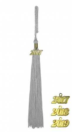 SILVER MIDDLE SCHOOL JUNIOR HIGH GRADUATION TASSEL