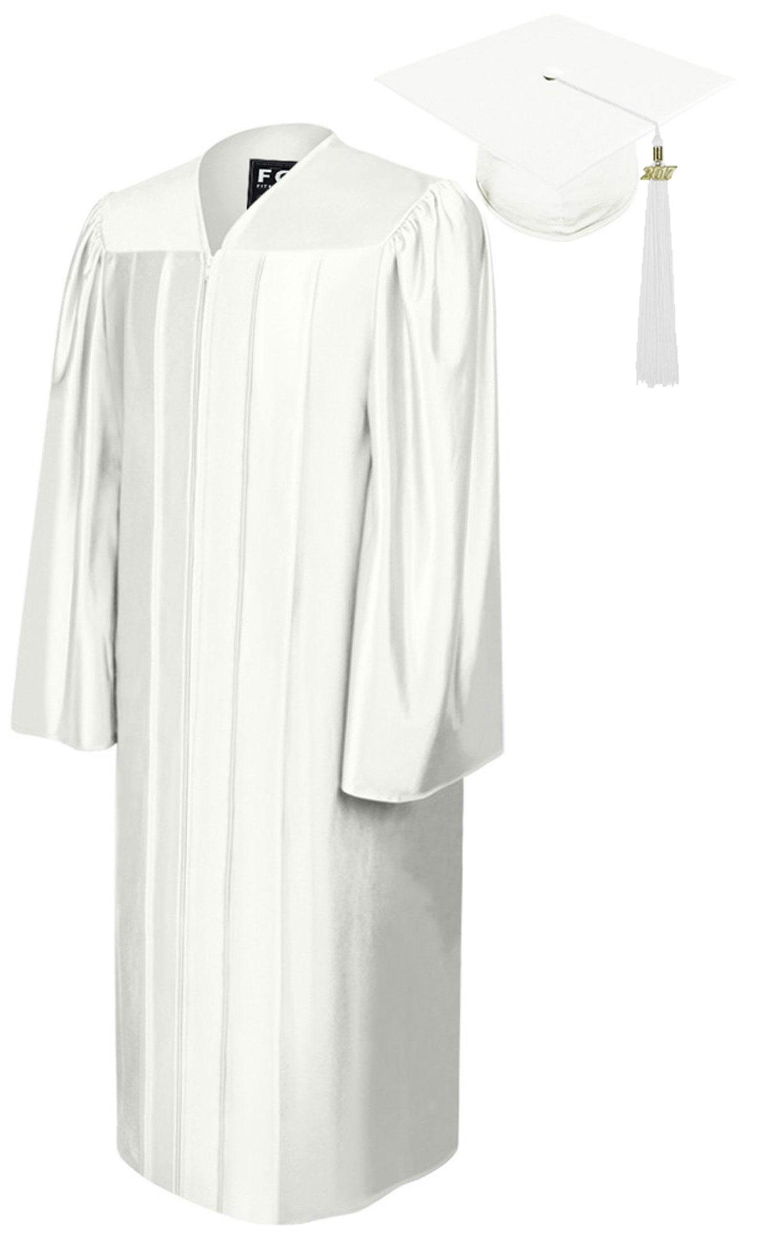 SHINY WHITE CAP, GOWN, GRADUATION BEAR SET-rs4251465613137