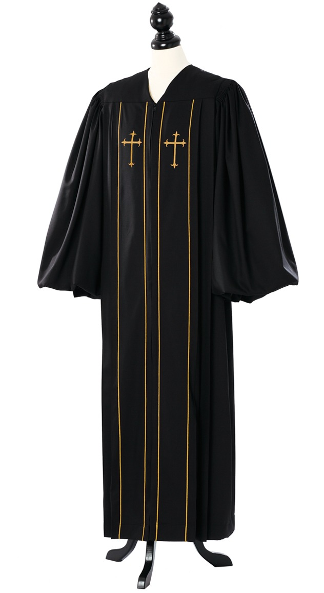 Custom Cleric Clergy Gold Robe