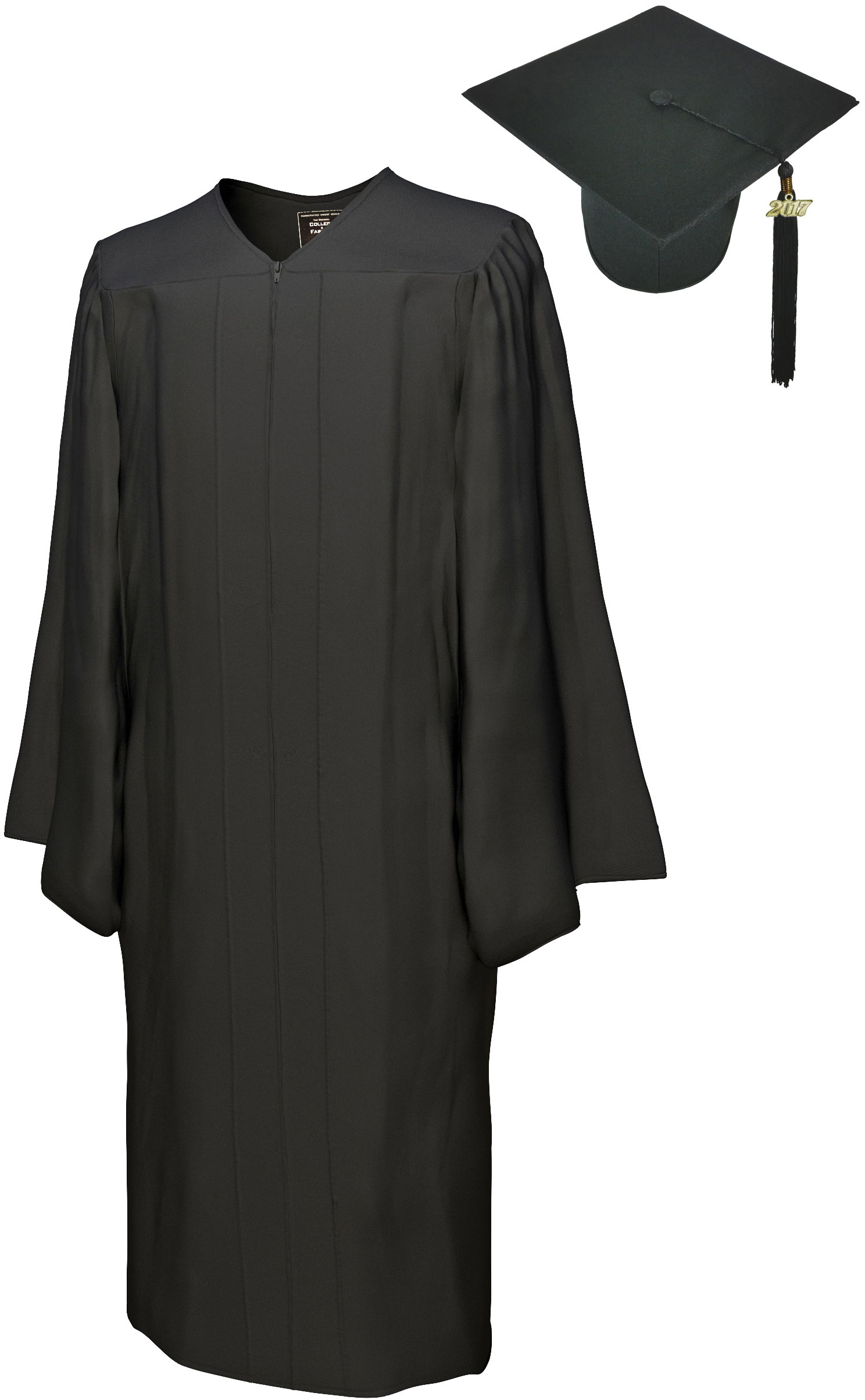 GO GREEN BLACK CAP & GOWN BACHELOR GRADUATION SET-rs4250582400729