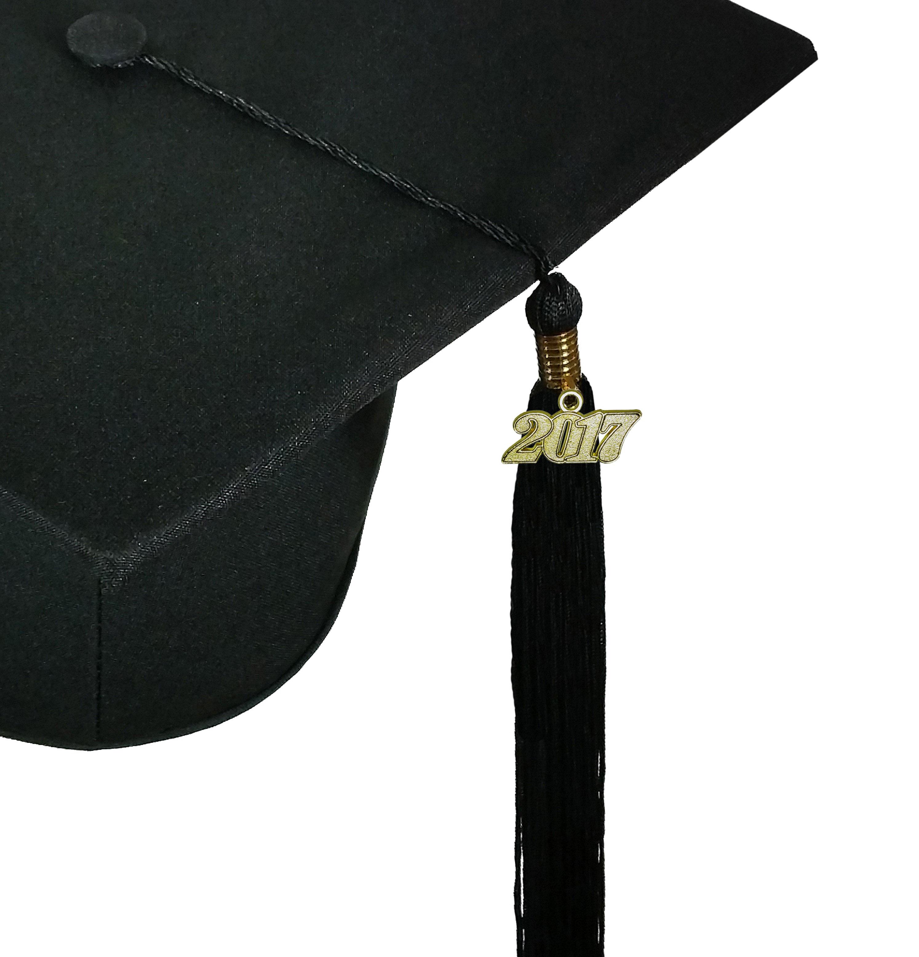 MATTE BLACK CAP, GOWN, GRADUATION BEAR SET-rs4251465613526