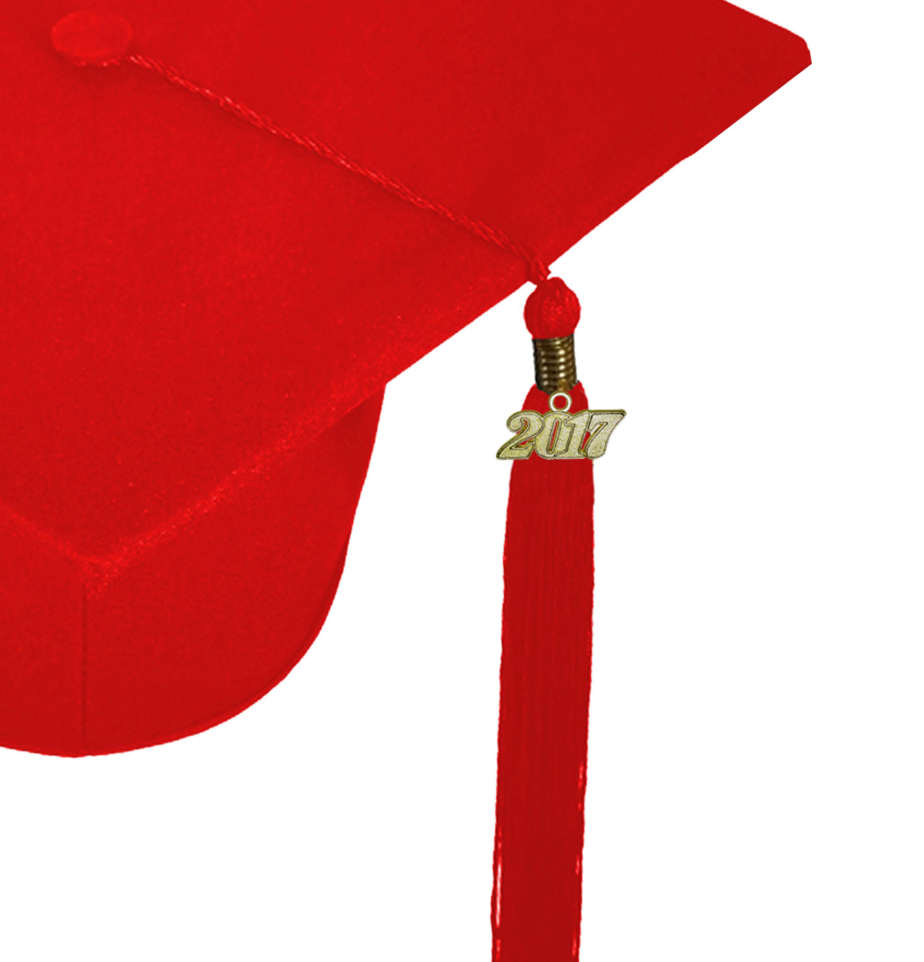 MATTE RED CAP, GOWN, GRADUATION BEAR SET-rs4251465613571