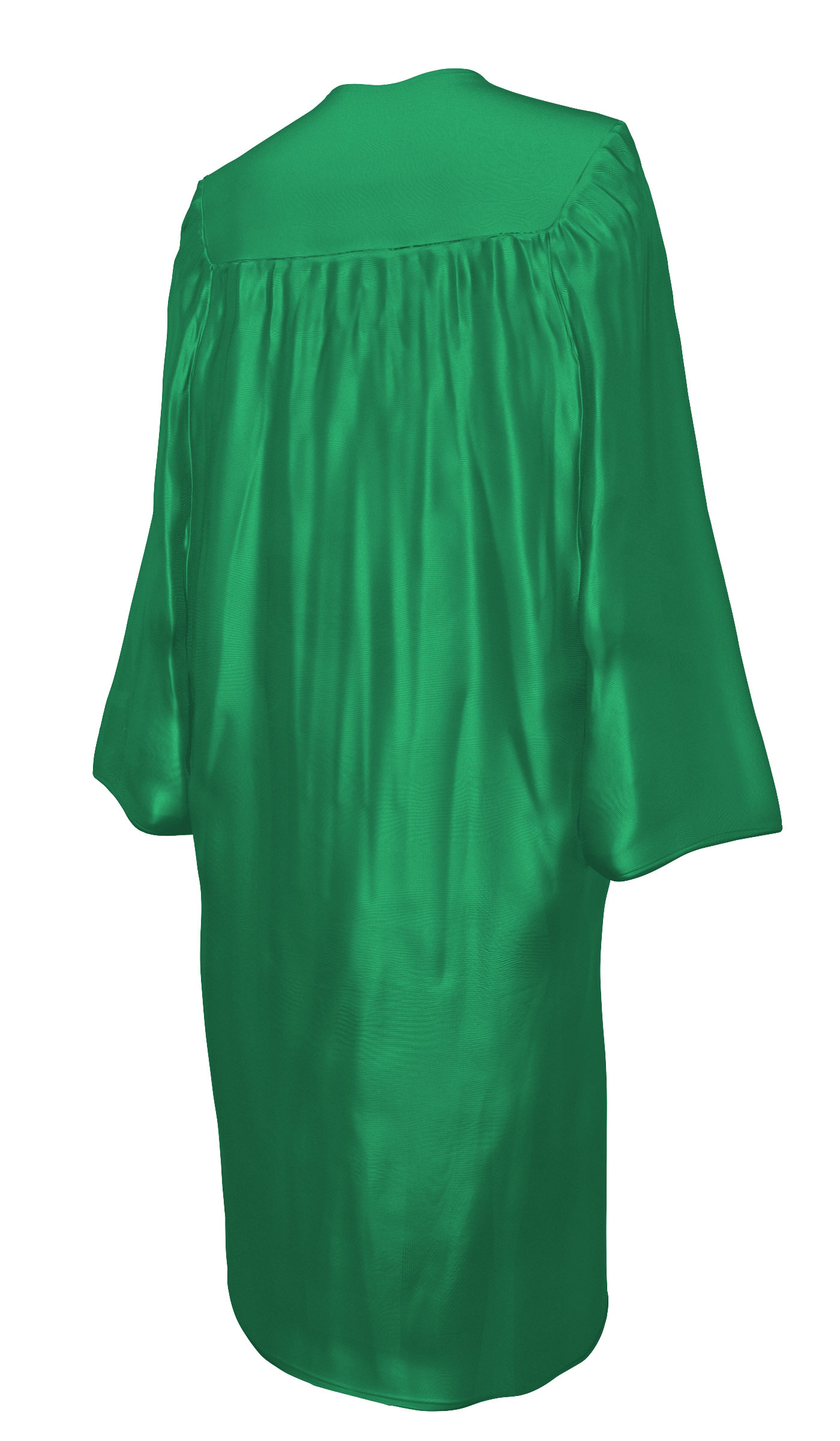 SHINY EMERALD GREEN CAP AND GOWN-rs4251465611171