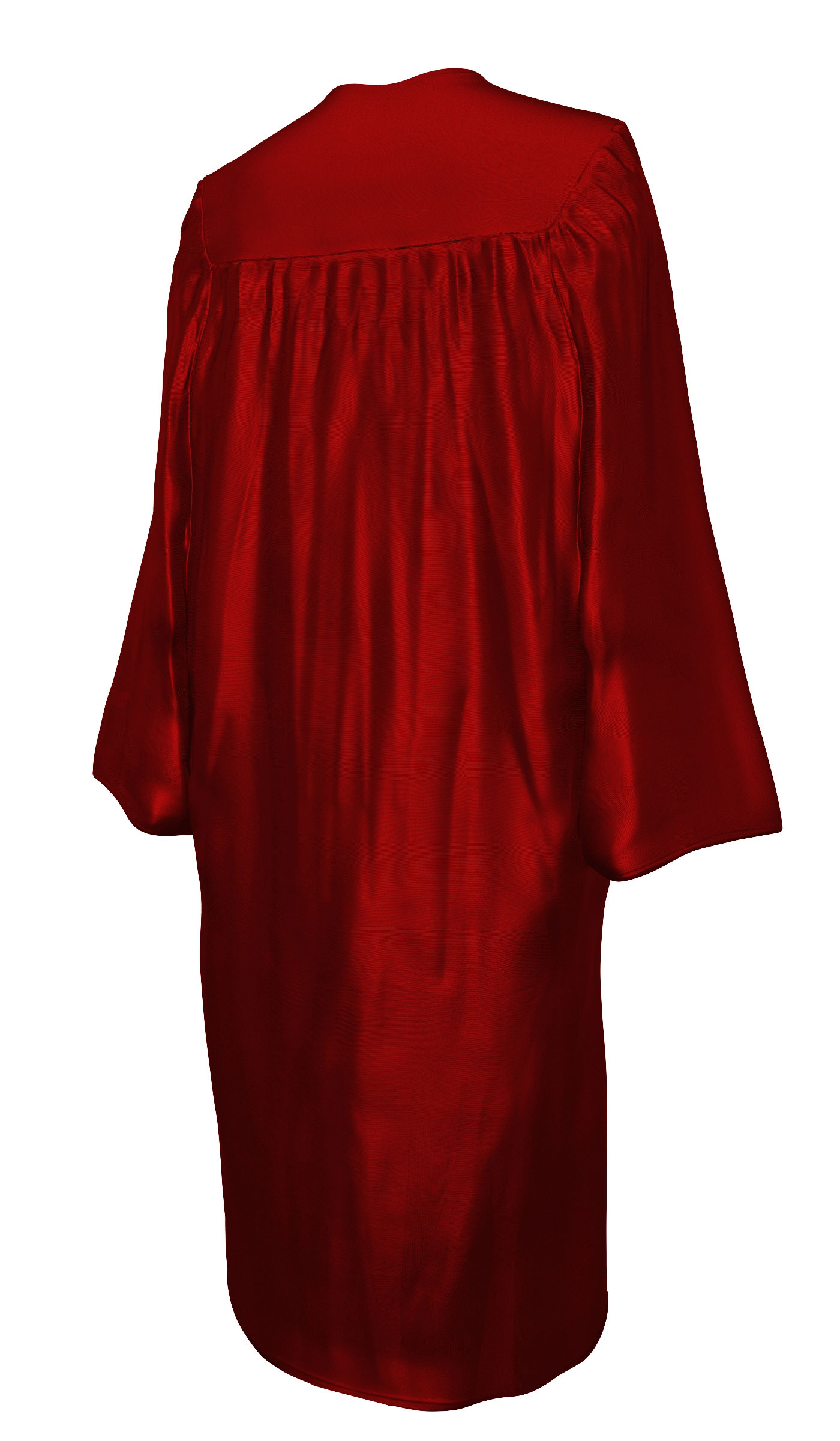 Shiny Maroon Red Cap And Gown Rs4251465611140