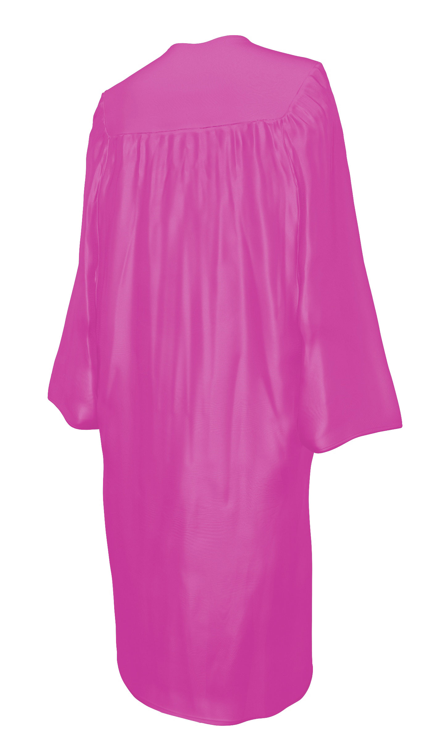 SHINY PINK CAP & GOWN BACHELOR GRADUATION SET-rs4251465601479
