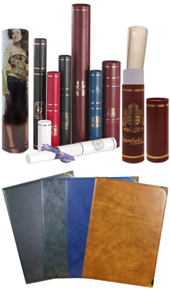 Diploma Covers and Tubes